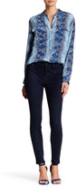 Level 99 Janice Mid-Rise Faux Suede Jean