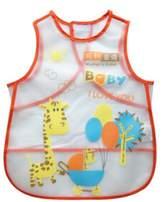 Kylin Express Baby Infant Saliva Towel Lovely Baby Bib Soft,Waterproof,Cartoon Giraffe