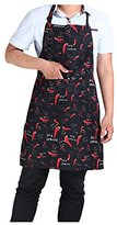 Halter Neck Apron - TOOGOO(R)Hotels chef Waiter Halter Neck Apron Small pepper Halter Neck Apron