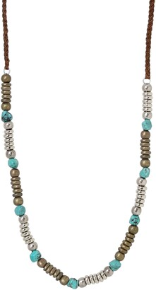 Ettika Mr. Turquoise Bead Necklace