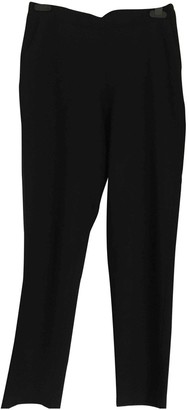 Whistles Black Wool Trousers for Women