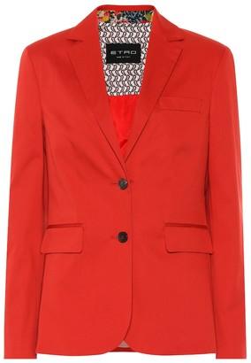 Etro Cotton blazer