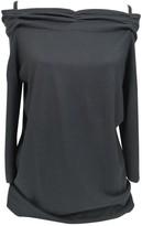 Laurèl Black Silk Knitwear for Women