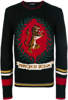 Dolce & Gabbana tiger sweater