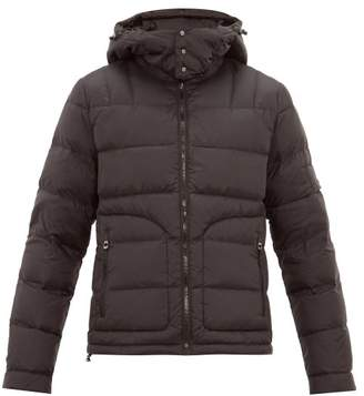 49 Winters - Quilted-down Hooded Jacket - Mens - Black