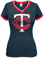 5th & Ocean Women's Minnesota Twins Triple Flock T-Shirt