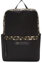Giuseppe Zanotti Black Camo Backpack