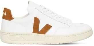 Veja 20mm V-12 Leather & Suede Sneakers