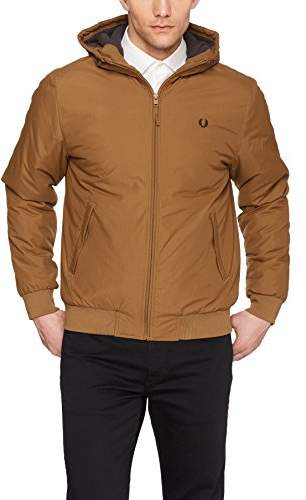 Fred Perry Men's Quilted Hooded Brentham JKT