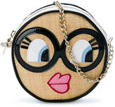 Simonetta round face shoulder bag