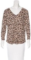 Dolce & Gabbana Cashmere Leopard Print Sweater