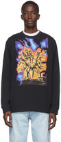 Acne Studios Black Monster in My Pocket Edition Great Beast Long Sleeve T-Shirt
