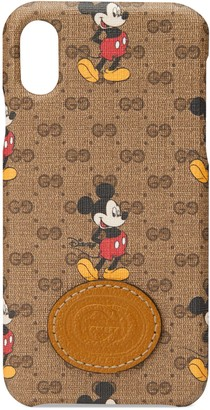 Gucci Disney x iPhone X/XS case