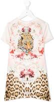 Roberto Cavalli tiger printed dress