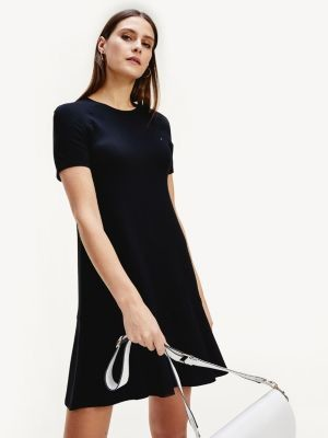 Tommy Hilfiger Ruffled Hem T-Shirt Dress