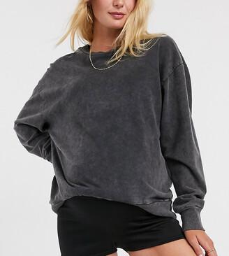 Fashionkilla Maternity runner short in black