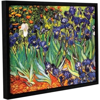 ArtWall Vincent Van Gogh Irises In The Garden Wall Art