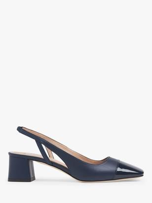 LK Bennett Hattie Leather Slingback Shoes