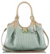 Brahmin 'Tri Color Elisa' Handbag - Blue