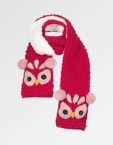 Fat Face Owl Scarf