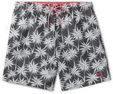 HUGO BOSS Piranha Mid-Length Printed Swim Shorts