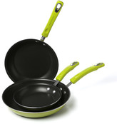 Rachael Ray Porcelain II 3-Piece Non-Stick Skillet Set