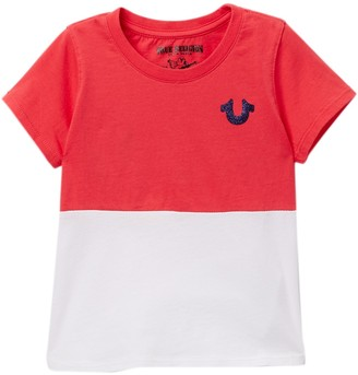 True Religion True Half T-Shirt (Toddler & Little Girls)