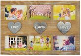New View ''Live Laugh Love'' 6-opening Collage Frame