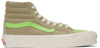 Vans Green Suede OG 138 LX High-Top Sneakers