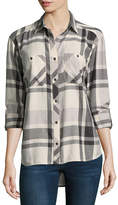 Columbia Co. Long Sleeve Plaid Button-Front Shirt