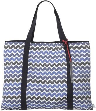 Sophia Enjoy Thinking Jacquard Beachbag Waves Pattern