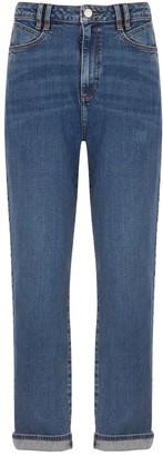 Mint Velvet Girlfriend Jeans - Indigo