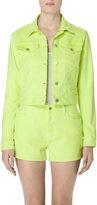 J Brand Sun Harlow Jacket in Golden Kiwi