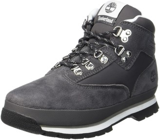 Timberland Euro Hiker Leather and Fabric Kid's Chukka Boot