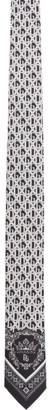 Dolce & Gabbana Black Bandana 12 Print Neck Tie