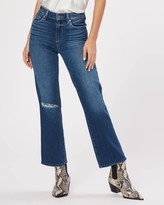 Paige ATLEY ANKLE FLARE-LOOKOUT DESTRUCTED