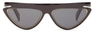 Fendi Ffluo Cat-eye Optyl Sunglasses - Black