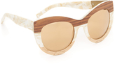 3.1 Phillip Lim Wood Sunglasses