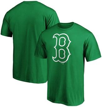Men's Fanatics Branded Kelly Green Boston Red Sox St. Patrick's Day Logo T-Shirt