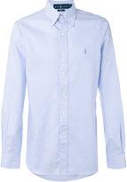Polo Ralph Lauren fitted striped shirt - men - Cotton - 15
