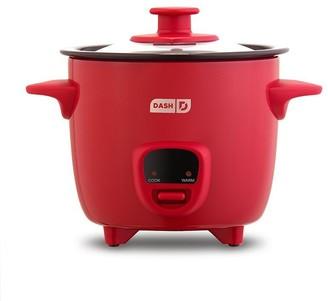 DASH Mini Rice Cooker Red