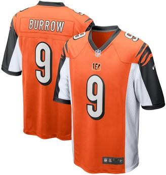 Nike Men's Joe Burrow Orange Cincinnati Bengals 2020 NFL Draft First Round Pick Game Jersey