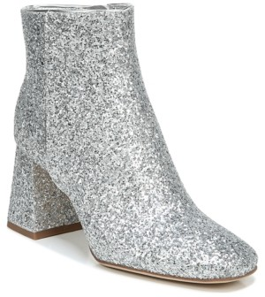 Silver Glitter Boots | Shop the world's