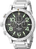 Nixon Men's A4861956 48-20 Pacific Station Chrono Watch