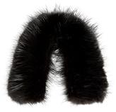 Valextra Iside beaver-fur bag strap cover