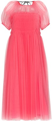 Molly Goddard x Browns 50 Billy puff-sleeve tulle dress