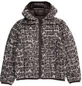JOTT Hugo Leopard Hooded Light Down Jacket