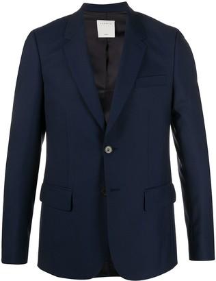 Sandro Paris fine knit tailored suit jacket