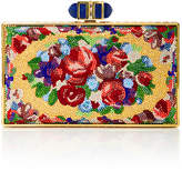 Judith Leiber Couture Aubusson Coffered Rectangle Clutch