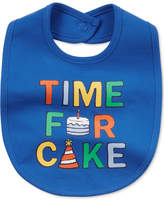 Carter's Time For Cake Cotton Bib, Baby Boys